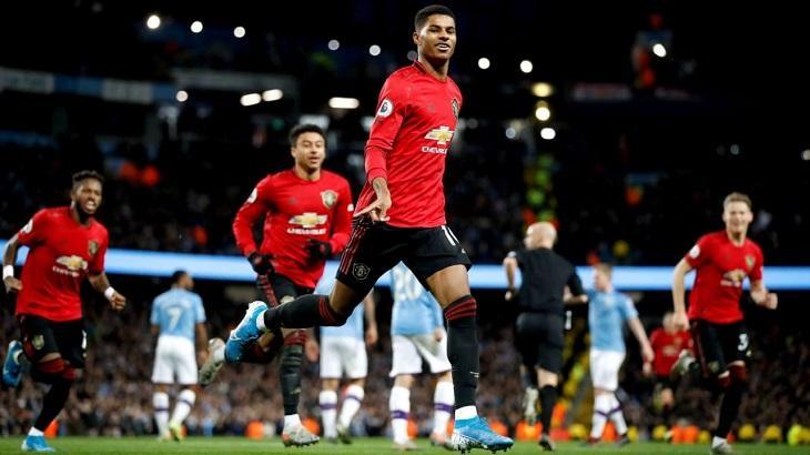 Clássico entre Manchester City e Manchester United colocou a ESPN na liderança da TV paga. Foto: Divulgação