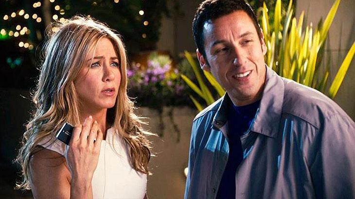 Netflix reúne Adam Sandler e Jennifer Aniston em comédia