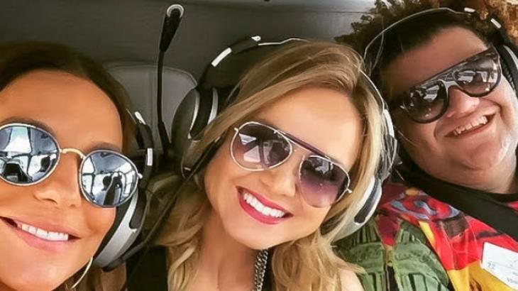 Programa Eliana mostra aventura em Las Vegas com Ivete Sangalo