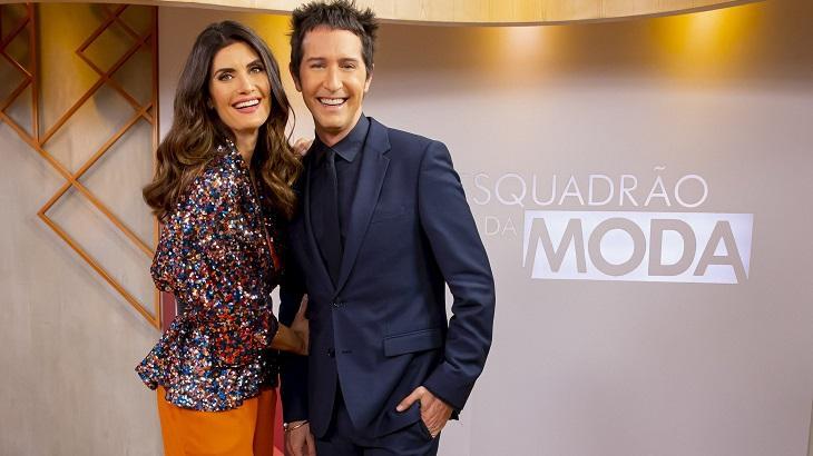 Arlindo Grund e Isabelle Fiorentino do Esquadrão da Moda