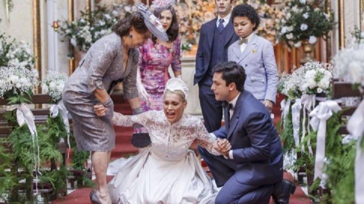Êta Mundo Bom: Candinho descobre segredo e abandona Sandra no altar