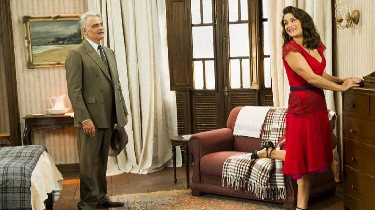 Na novela Êta Mundo Bom, Diana irá sofrer nas mãos de Severo - Foto: Divulgação