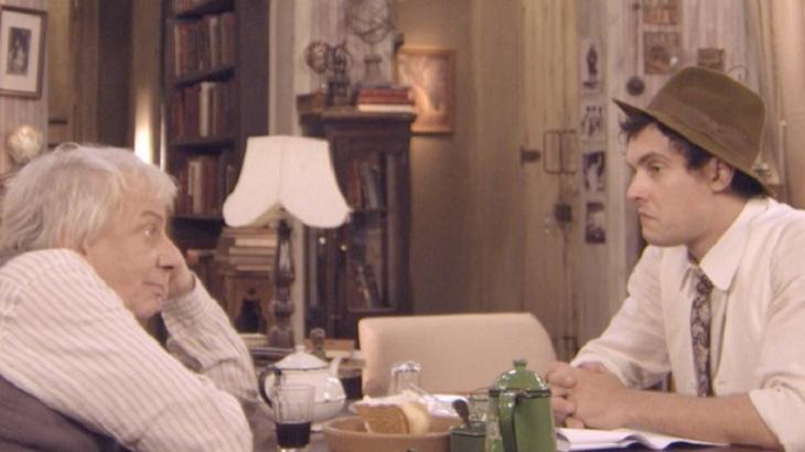 Êta Mundo Bom: Pancrácio confessa a Candinho que ama Anastácia