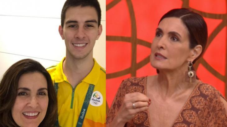 Fátima Bernardes e Vinícius