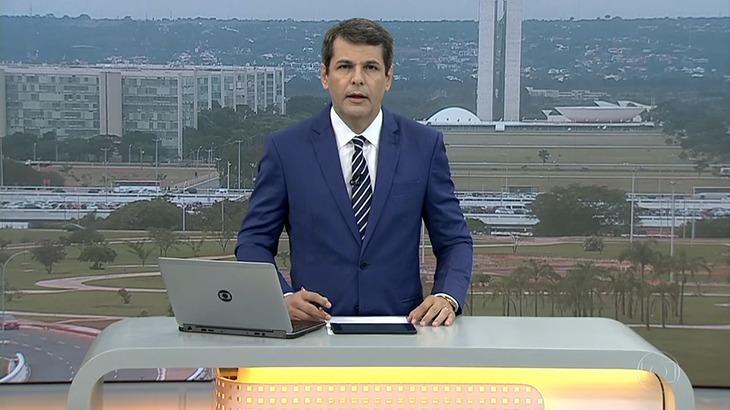 O jornalista Fábio William, da Globo