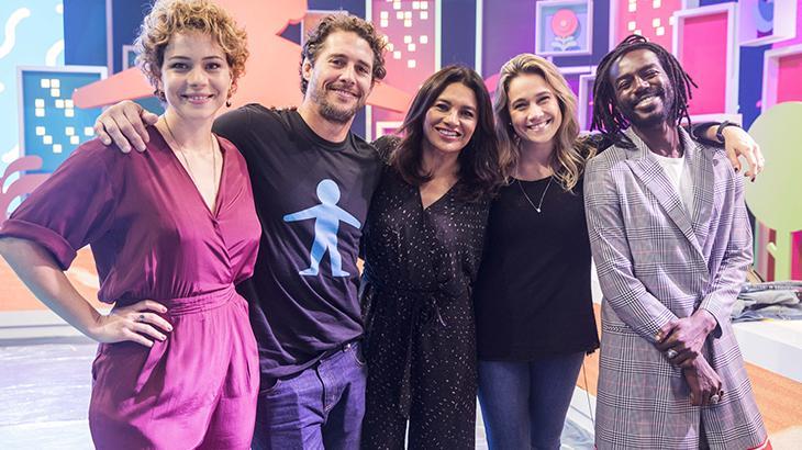 Fernanda Gentil comemora sua participação no Criança Esperança - Divulgação