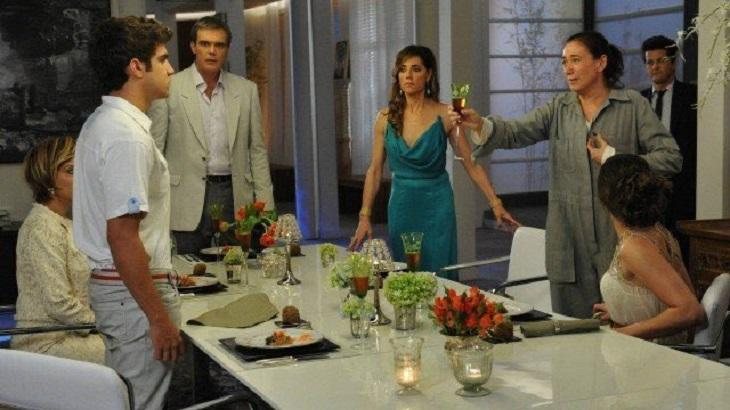 Antenor desmascarado foi mais assistido na reprise de Fina Estampa que na versão original - Foto: Divulgação