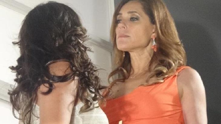 Cena de Fina Estampa com Tereza Cristina e Patrícia