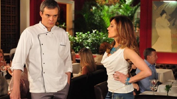 Fina Estampa: Tereza Cristina se vinga de René e denuncia restaurante
