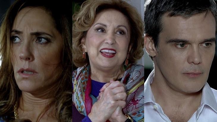 Fina Estampa: Tereza Cristina mente, Tia Íris prevê morte e René leva fora