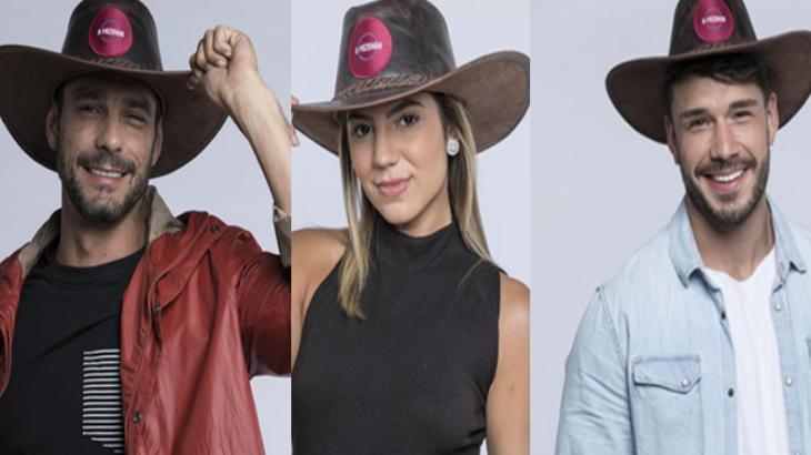 Diego, Hari e Lucas estão na final de A Fazenda 2019; quem ganha?