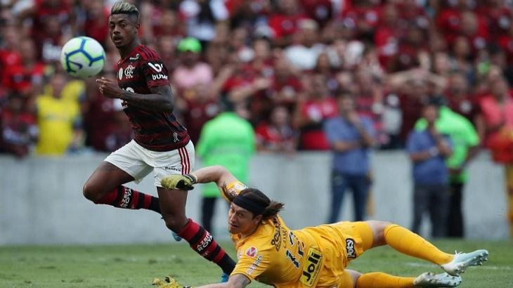 Flamengo goleou o Corinthians e bombou no Ibope. Foto: Reprodução
