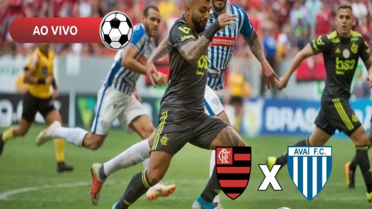 Flamengo x Avaí - Foto: Divulgação
