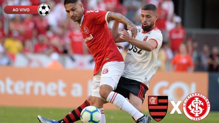 Flamengo x Internacional - Foto: Divulgação