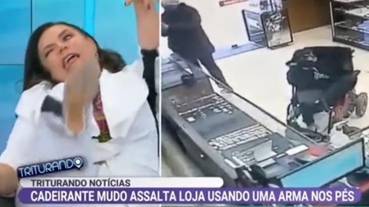 Flor é acusada de ridicularizar cadeirantes e se defende - Televisão - NaTelinha