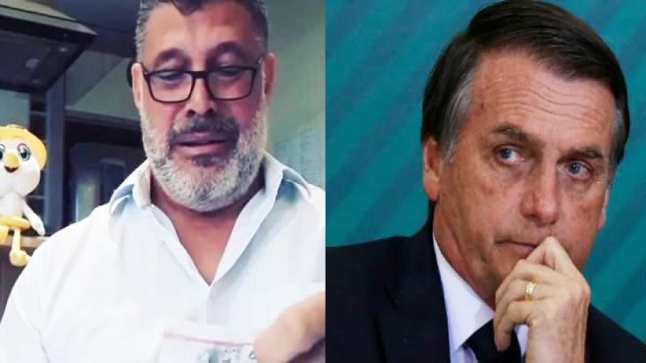 Alexandre Frota e Bolsonaro - Foto: Montagem/Reprodução