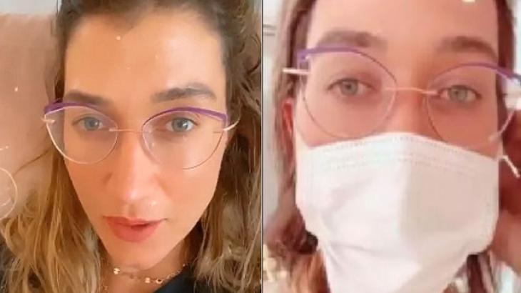 """Gabriela Pugliesi confirma que está com coronavírus e desabafa: """"Vou ficar aqui isolada"""""""