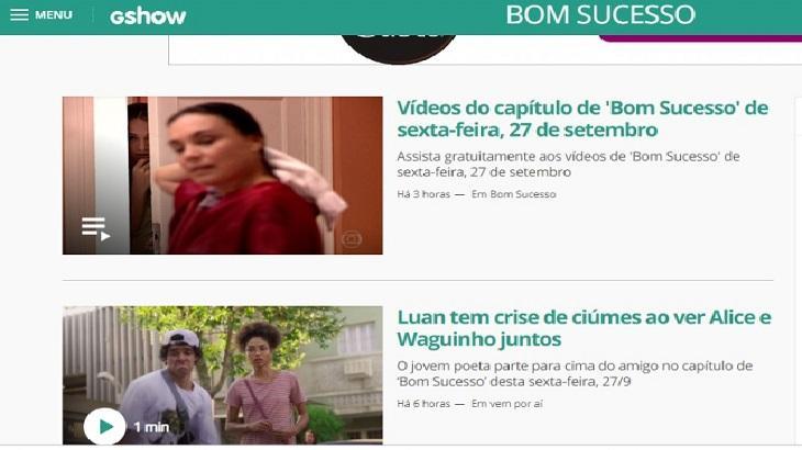 Globo errou ao colocar vídeo de