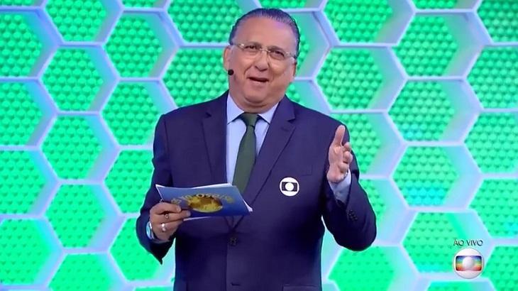 Galvão Bueno passa bem após cateterismo. Foto: Divulgação