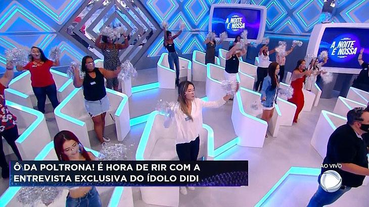 Geraldo Luís apresenta o A Noite é Nossa na Record