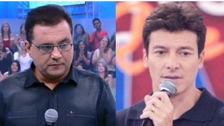 Geraldo Luis e Rodrigo Faro repetiram pauta quase um ano depois - Foto: Reprodução