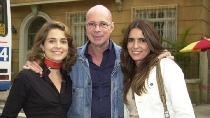 Gilberto Braga é acostumado a trabalhar com Malu Mader e Cláudia Abreu. Foto: Divulgação