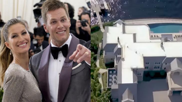 Gisele Bündchen e Tom Brady alugam mansão luxuosa por R$ 395 mil por mês