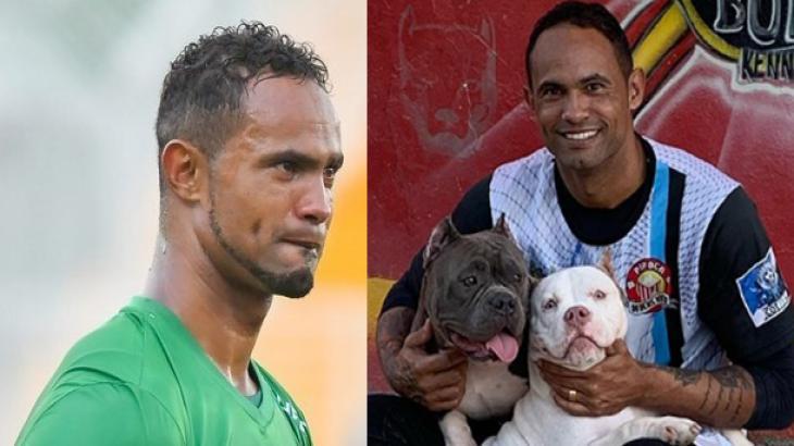 Goleiro Bruno e cachorros - Foto: Montagem/Reprodução