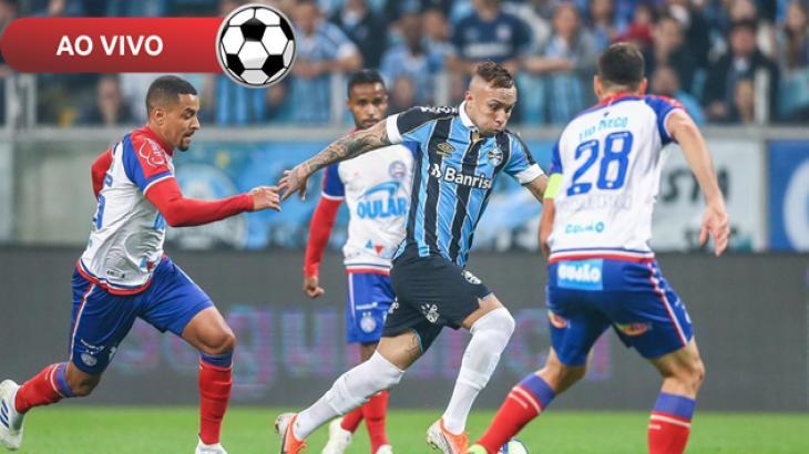 Grêmio x Bahia ao vivo: Saiba como assistir online e na TV pelo Brasileirão