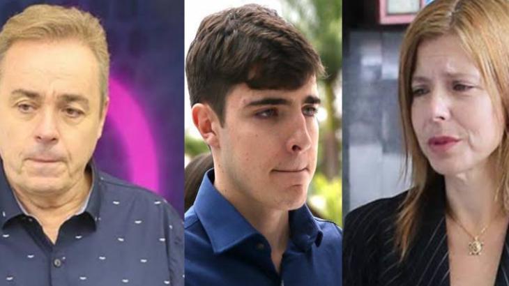 Gugu, João Augusto e Rose Miriam