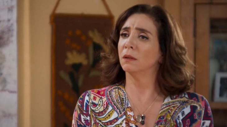 """Haja Coração: Francesca invade a mansão Abdala e faz ameaça: """"Deixem meu filho em paz"""""""