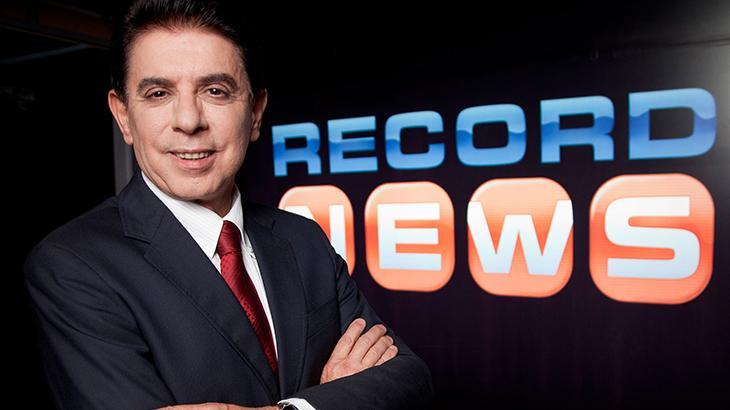 Jornal da Record News bate GloboNews em março