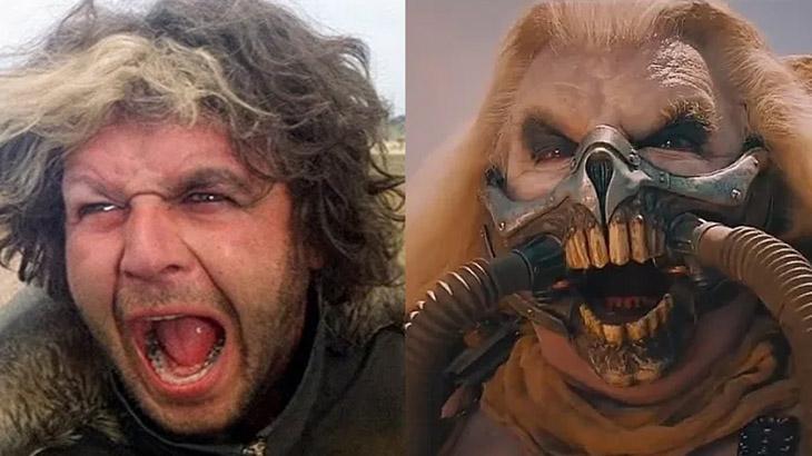 O ator Hugh Keays-Byrne em Mad Max