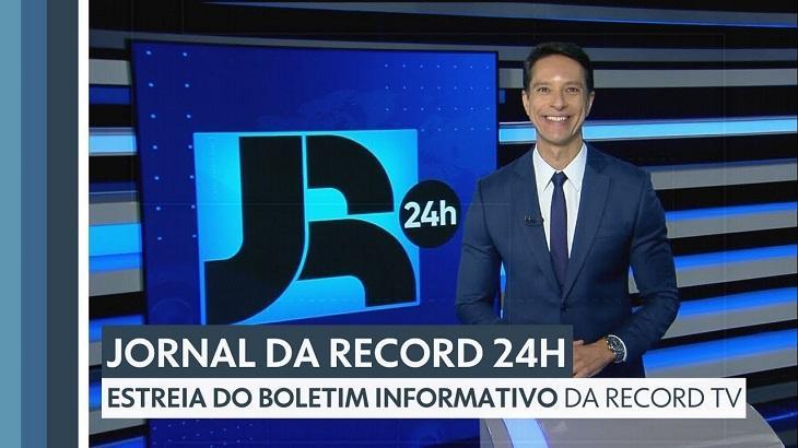 JR 24h da madrugada na Record é mais assistido que Fala Brasil e Hoje em Dia