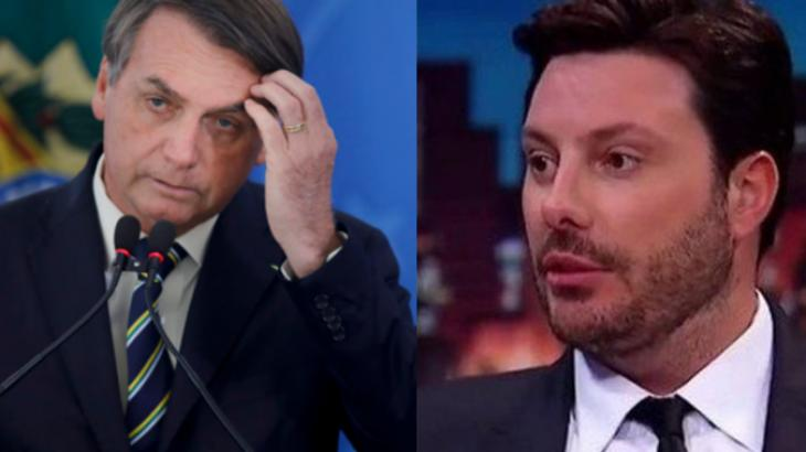 """Danilo Gentili detona bolsonaristas com polêmica do leite condensado: """"Passando pano"""""""
