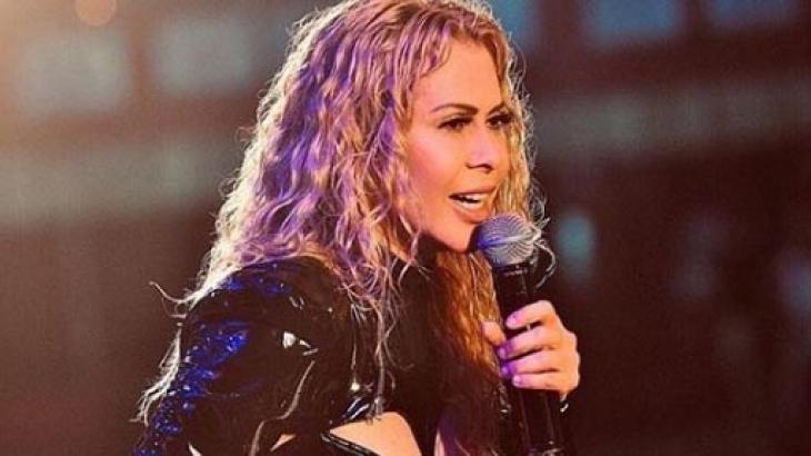 Joelma durante show - Foto: Reprodução