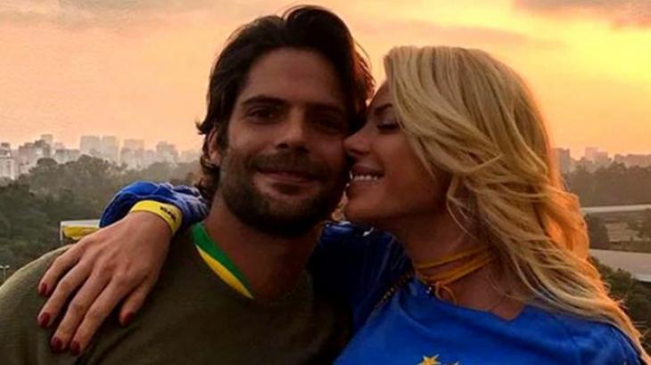 Jorge Sestini e Caroline Bittencourt - Foto: Reprodução