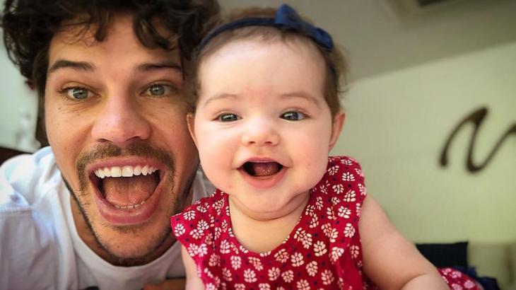 José Loreto e a filha Bella - Foto: Reprodução