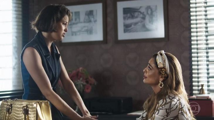Josiane enganará a mãe para ganhar uma mansão enquanto leva Régis para a cama em