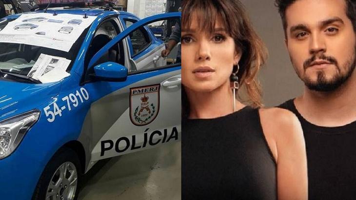 Paula Fernandes e Luan Santana inspiraram operação policial - Foto: Montagem