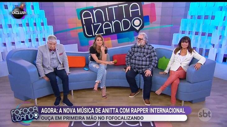 Lívia Andrade esteve presente no