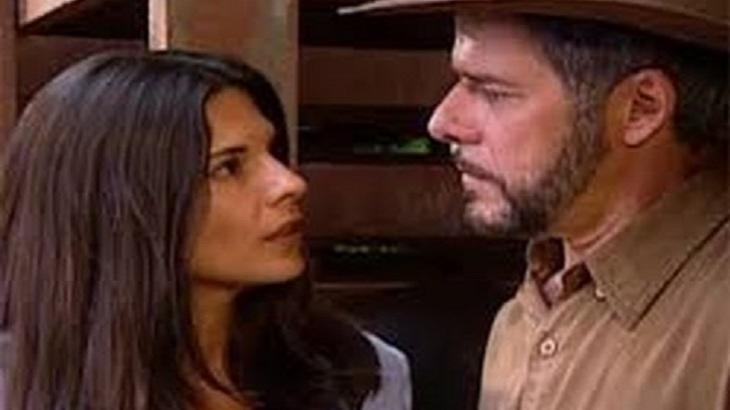 Na novela Laços de Família, Cíntia e Pedro vão bater boca - Foto: Divulgação