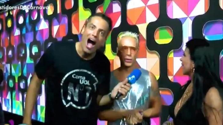 Leo Dias, Matheus Mazzafera e Gretchen