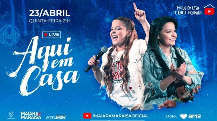 Live da dupla Maiara e Maraisa - Foto: Divulgação