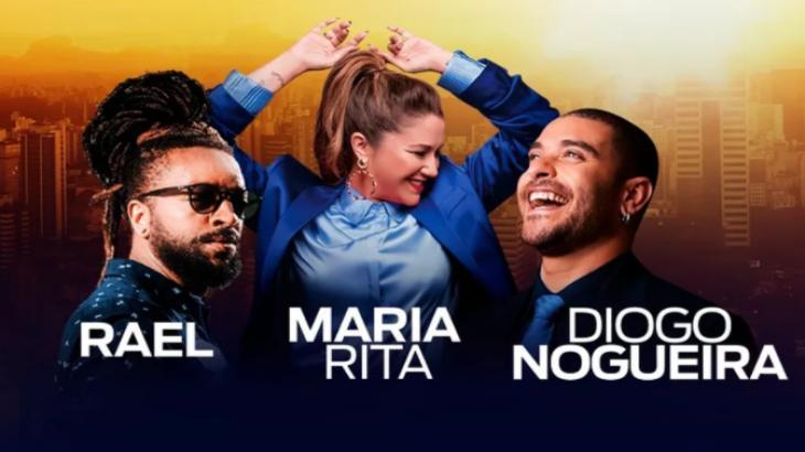 Live da Maria Rita, Diogo Nogueira e Rael