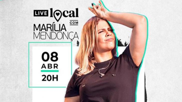 Live de Marília Mendonça 08/04: saiba como assistir pelo YouTube