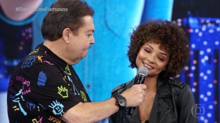 Bailarina confirma ausência de Luis Lobianco por contusão. Foto: Reprodução