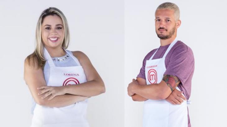 Lorena e Rodrigo - Final MasterChef 2019 - Foto: Montagem/Divulgação