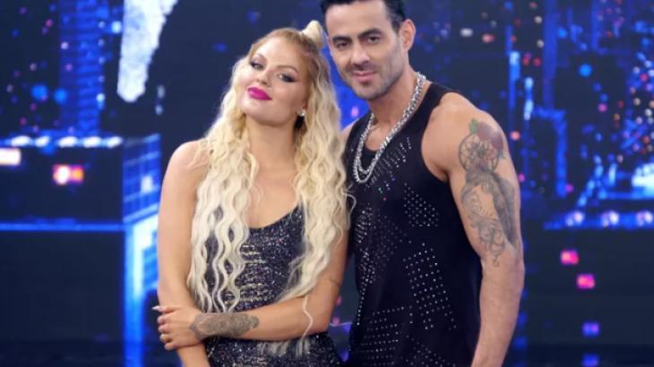 Luíza Sonza e bailarino Leo Santos - Foto: Divulgação