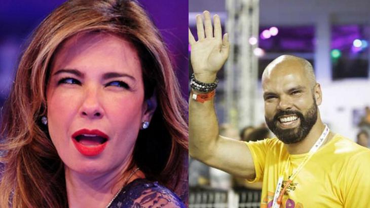 Bruno Covas e Luciana Gimenez são amigos, segundo a apresentadora - Foto: Montagem